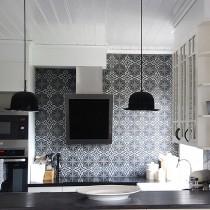 Плитка для кухни полуполированная, лаппатированная