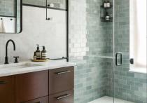 Плитка для ванной глянцевая