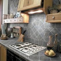 Плитка для кухни глазурованная