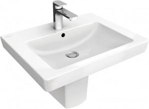 Раковина для ванной подвесная Villeroy & Boch коллекция Subway 2.0 белая 71136501