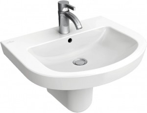 Раковина для ванной подвесная Villeroy & Boch коллекция Subway 2.0 белая 71146501