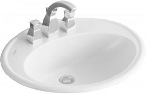 Раковина для ванной встраиваемая Villeroy & Boch коллекция Amadea белая 619863R1