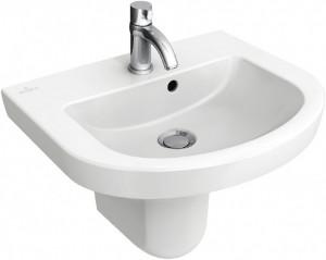 Раковина для ванной подвесная Villeroy & Boch коллекция Subway 2.0 белая 73165001