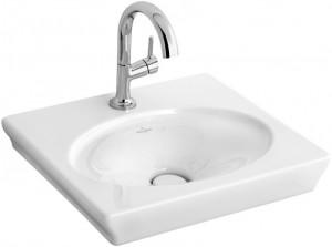 Раковина для ванной подвесная Villeroy & Boch коллекция La Belle белая 732450R1