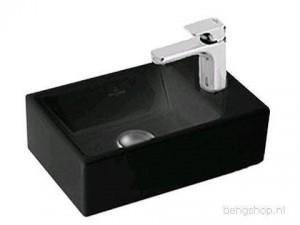 Раковина для ванной накладная Villeroy & Boch коллекция Memento черная 533341S0