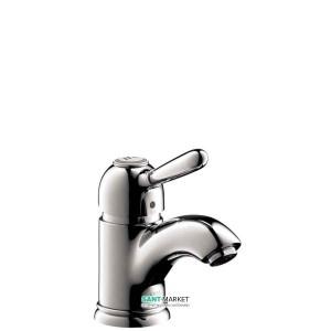 Смеситель для раковины однорычажный с донным клапаном Hansgrohe коллекция Axor Carlton хром 17015000