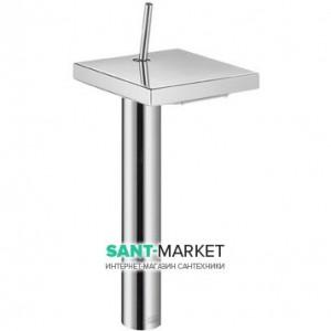 Смеситель для раковины с джойстиком каскадный высокий Hansgrohe Axor Starck X хром 10080000