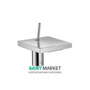 Смеситель для раковины с джойстиком каскадный с донным клапаном Hansgrohe Axor Starck X хром 10070000