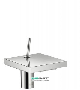 Смеситель для раковины с джойстиком каскадный Hansgrohe коллекция Axor Starck X хром 10077000