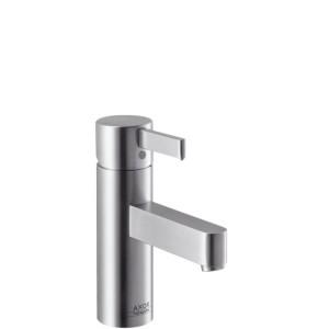 Смеситель для раковины однорычажный с донным клапаном Hansgrohe Axor Steel хром 35002800