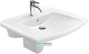 Раковина для ванной подвесная Villeroy & Boch коллекция Lifetime белая 51748001