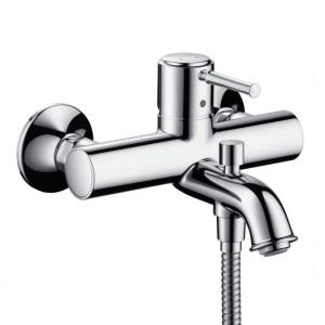 Смеситель однорычажный для ванны с коротким изливом Hansgrohe коллекция Talis Classic хром 14140000