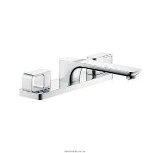 Смеситель двухвентильный на борт ванны Hansgrohe коллекция Axor Urquiola хром 11436000