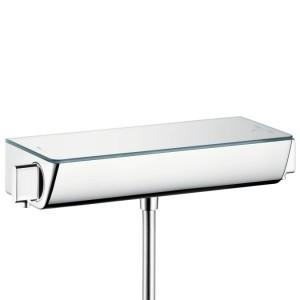 Смеситель для душа настенный с термостатом двухвентильный Hansgrohe Ecostat Select хром 13161000