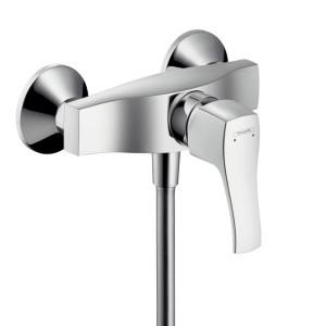 Смеситель для душа настенный однорычажный Hansgrohe коллекция Metris Classic хром 31672000