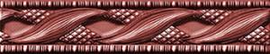 Venus Плитка CEN AMAZONIA RED PASSION фриз 131108