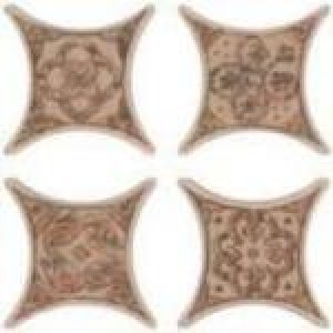 Azulev Плитка Cross ESTRELLA UMBRIA декор 130708