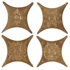 Azulev Плитка Oct Copperwood ESTRELLA CHARME BRONCE декор4 188291