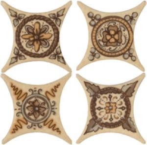 Azulev Плитка Spanishgold Beige ESTRELLA CHELSEA BEIGE декор 178483