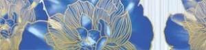 Golden Tile К23311 РИО ГОЛУБОЙ фриз 137528
