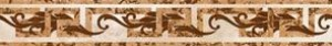 Golden Tile Г51331 ОКТАВА БЕЖЕВЫЙ С МЕТАЛЛИКОМ фриз 137517