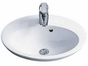Раковина для ванной встраиваемая IDO коллекция Mosaik белая 1117901101