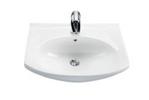 Раковина для ванной на тумбу IDO коллекция Mosaik белая 1117701101