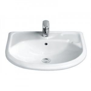 Раковина для ванной подвесная IDO коллекция Trevi белая 1118501101