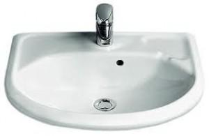 Раковина для ванной подвесная IDO коллекция Trevi белая 1128901101