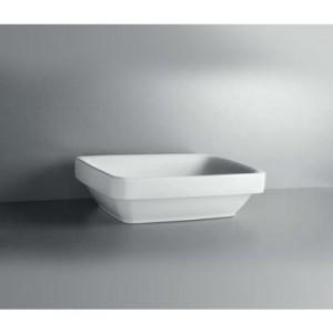 Раковина для ванной накладная IDO коллекция Seven D белая 1111601101