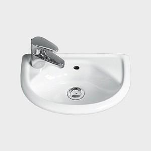 Раковина для ванной подвесная IDO коллекция Trevi белая 1118201101