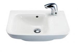 Раковина для ванной подвесная IDO коллекция Seven D белая 1111201101