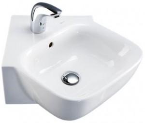 Раковина для ванной подвесная IDO коллекция Seven D белая 1111701101