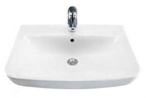 Раковина для ванной подвесная IDO коллекция Seven D белая 1111501101