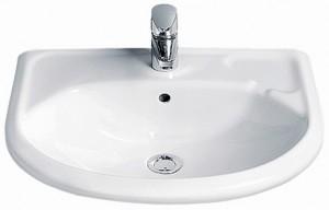 Раковина для ванной подвесная IDO коллекция Trevi белая 1119001101
