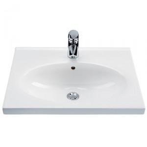 Раковина для ванной подвесная IDO коллекция Soft белая 9203101001