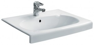Раковина для ванной встраиваемая IDO белая 1111001101