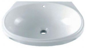 Раковина для ванной встраиваемая IDO белая 1116901101