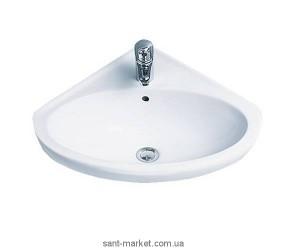 Раковина для ванной подвесная IDO коллекция Trevi белая 1115501101