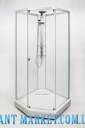 IDO Showerama 8-5 Душ. кабина 1000x1000 мм, худ.стекло Dandelion II/проз.стекло 4985118010