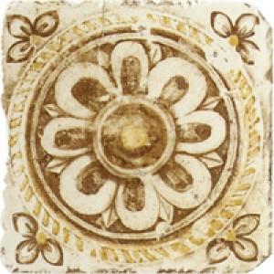 Ariana Плитка Le Terre Del Sole BS475E OCRA/MARRONE декор 180384