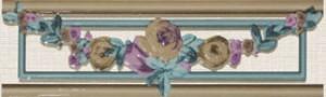 Azahar Плитка Sottile LIST DOLCE фриз 128308