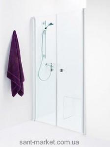 Душевая дверь в нишу IDO Showerama 8-0 стеклянная распашная 95х195 4980035095