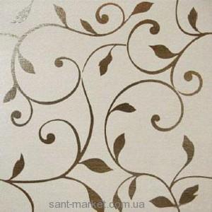 Gambarelli 60TA14 TANGO WHITE DEC TRALCIO Плитка напольная 167070