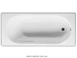 Ванна акриловая прямоугольная Jika коллекция Lyra 170х75х41 2.3283.9.000.000.1