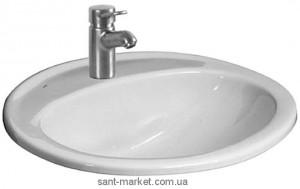 Раковина для ванной встраиваемая Jika Ibon белая H13010000104