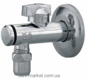 Ferro Шаровой кран для воды угловой водозаборный с розеткой 1/2 Z280