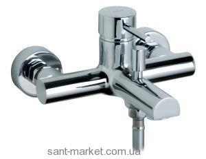 Смеситель однорычажный для ванны с коротким изливом Jika Mio H21717004000