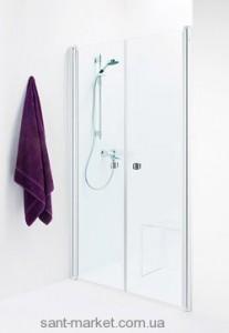 Душевая дверь в нишу IDO Showerama 8-0 стеклянная распашная 115х195 4980035115