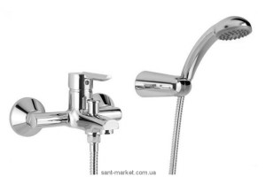 Смеситель однорычажный для ванны с душем Mofem коллекция Rumba хром 151-0038-10